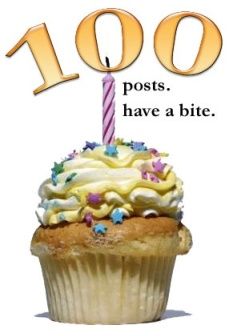 100 posts have a bite